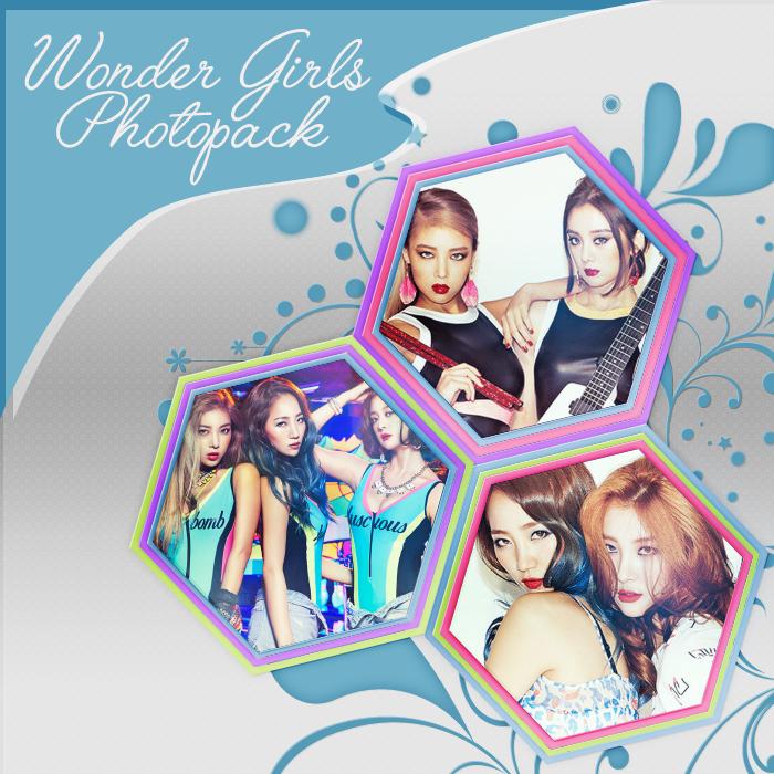 Wonder Girls - Photopack by mayradias