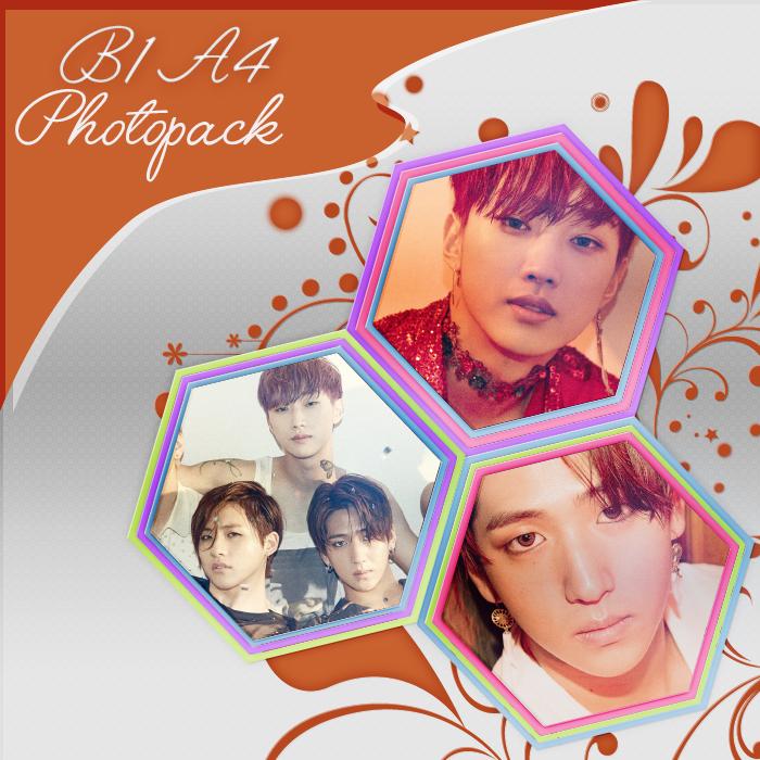 B1A4 - Photopack by mayradias