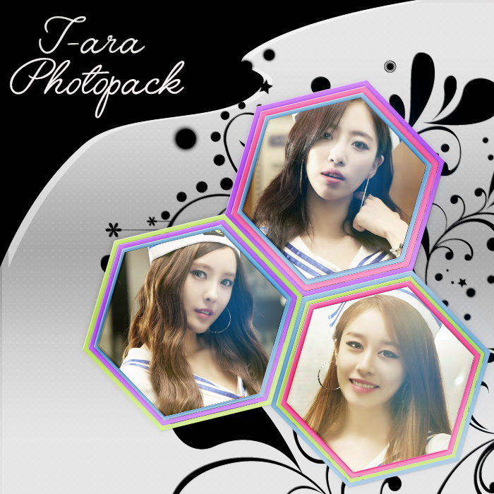 T-ara - Photopack by mayradias