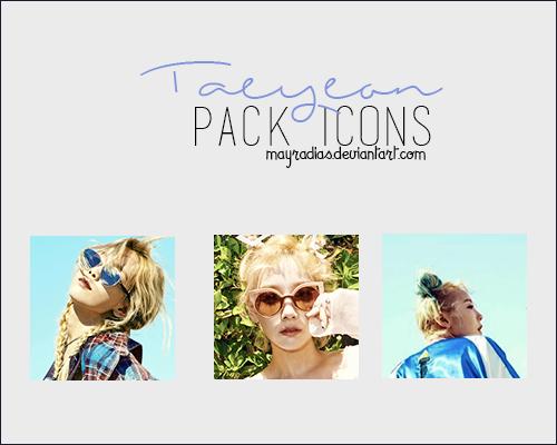 TaeYeon - Icons by mayradias