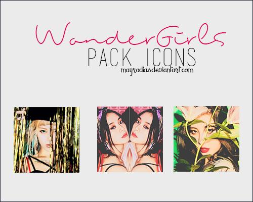 Wonder Girls - Icons by mayradias