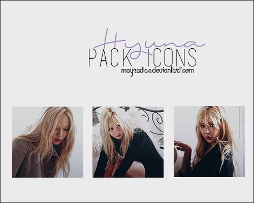 Hyuna - Icons 3 by mayradias