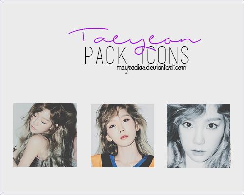 TaeYeon - Icons 2 by mayradias