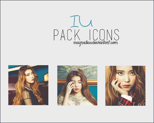 IU - Icons by mayradias