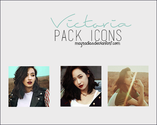 Victoria - Icons 2 by mayradias
