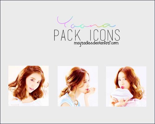 Yoona - Icons by mayradias