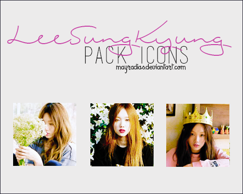 Lee Sung Kyung - Icons 2 by mayradias