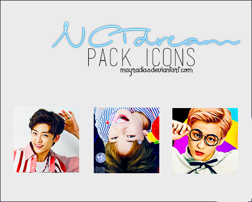NCT Dream - Icons by mayradias