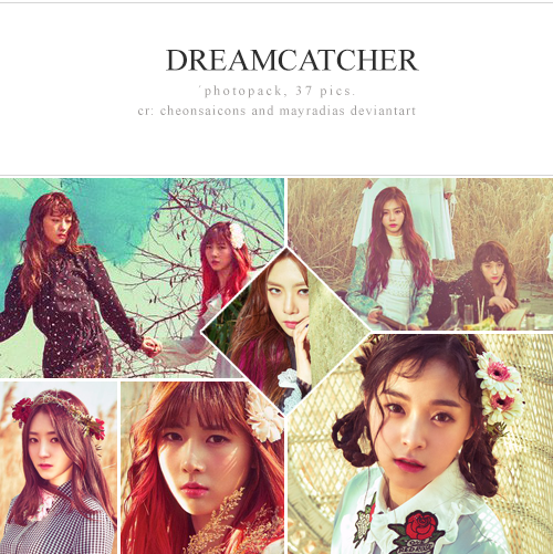 Dreamcatcher photopack by mayradias