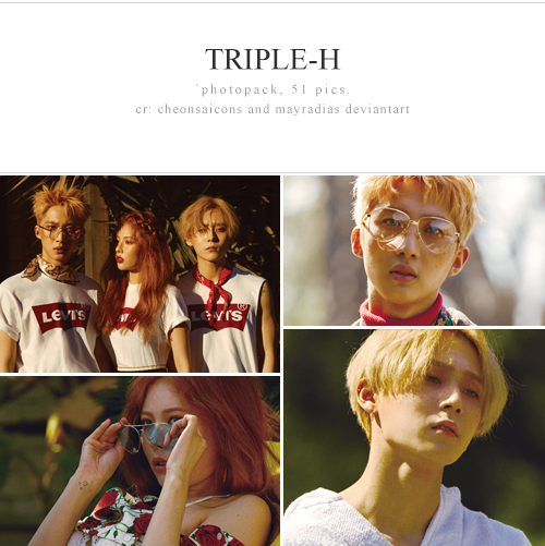 triple-h photopack by mayradias
