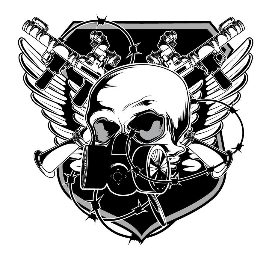 Skull Emblem By Designious On Deviantart