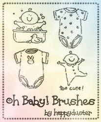 Oh Baby Brushes by happyduster
