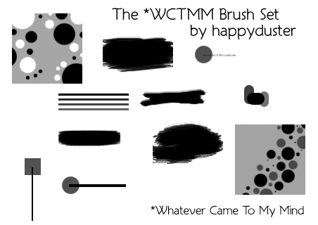 WCTMM brushes by happyduster