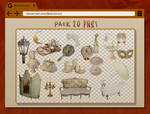 PNG Pack #5 - Vintage objects