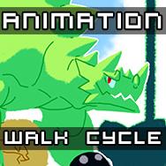 Walk Animation Test by BlueBerserker