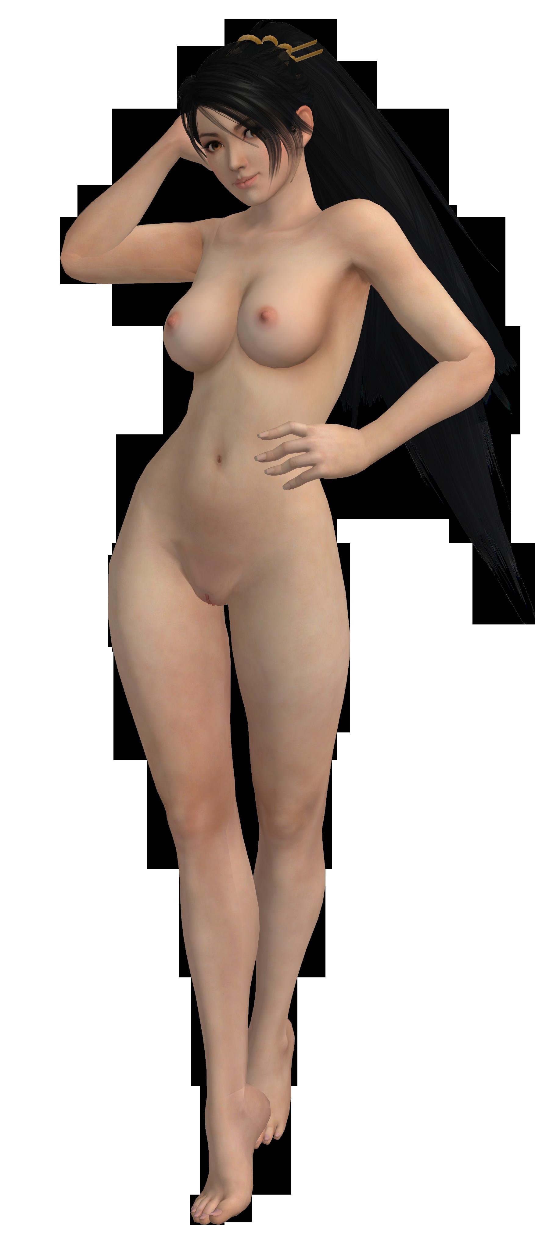 3d model girl nude