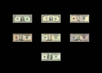 United States Dollar Bills for XNALara/XPS by XPS-Fanatic