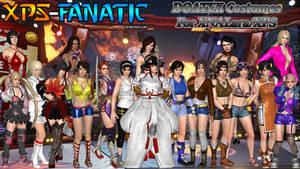 DOATEK Cosplay Costumes for XNALara/XPS