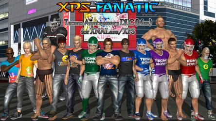 DOA5LR - Tecmo Anniversary DLC (Men) for XPS by XPS-Fanatic