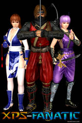 DOA5LR - Mugen Tenshin Shinobi for XNALara/XPS by XPS-Fanatic