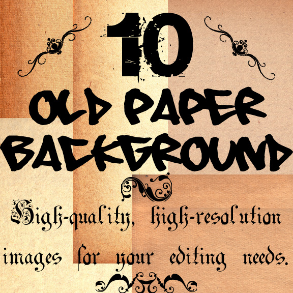10 old paper texture