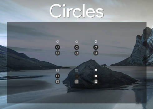 Circles - Start Orbs inspired by ChromeOS