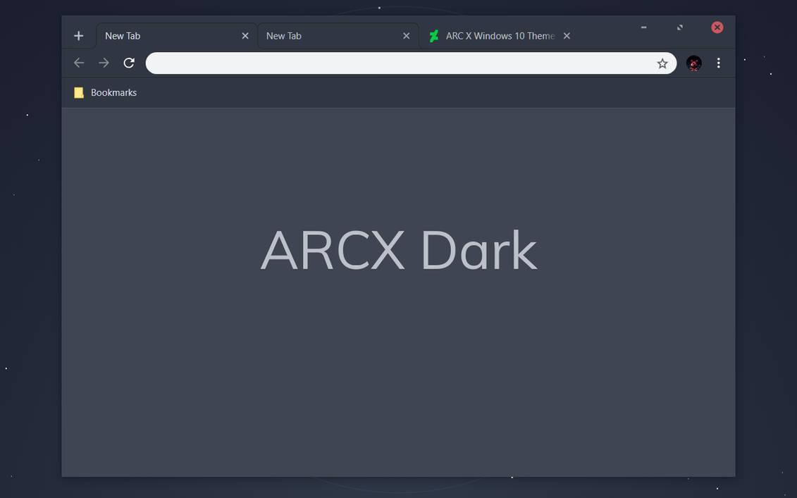 ARCX Dark Chrome Theme by bkp86 on DeviantArt