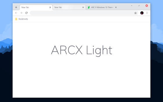 ARCX Light Chrome Theme by bkp86