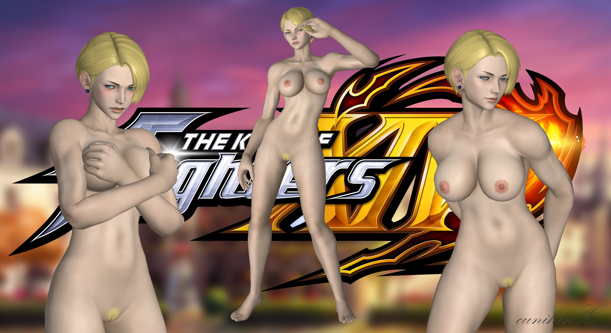 king of fighter naked