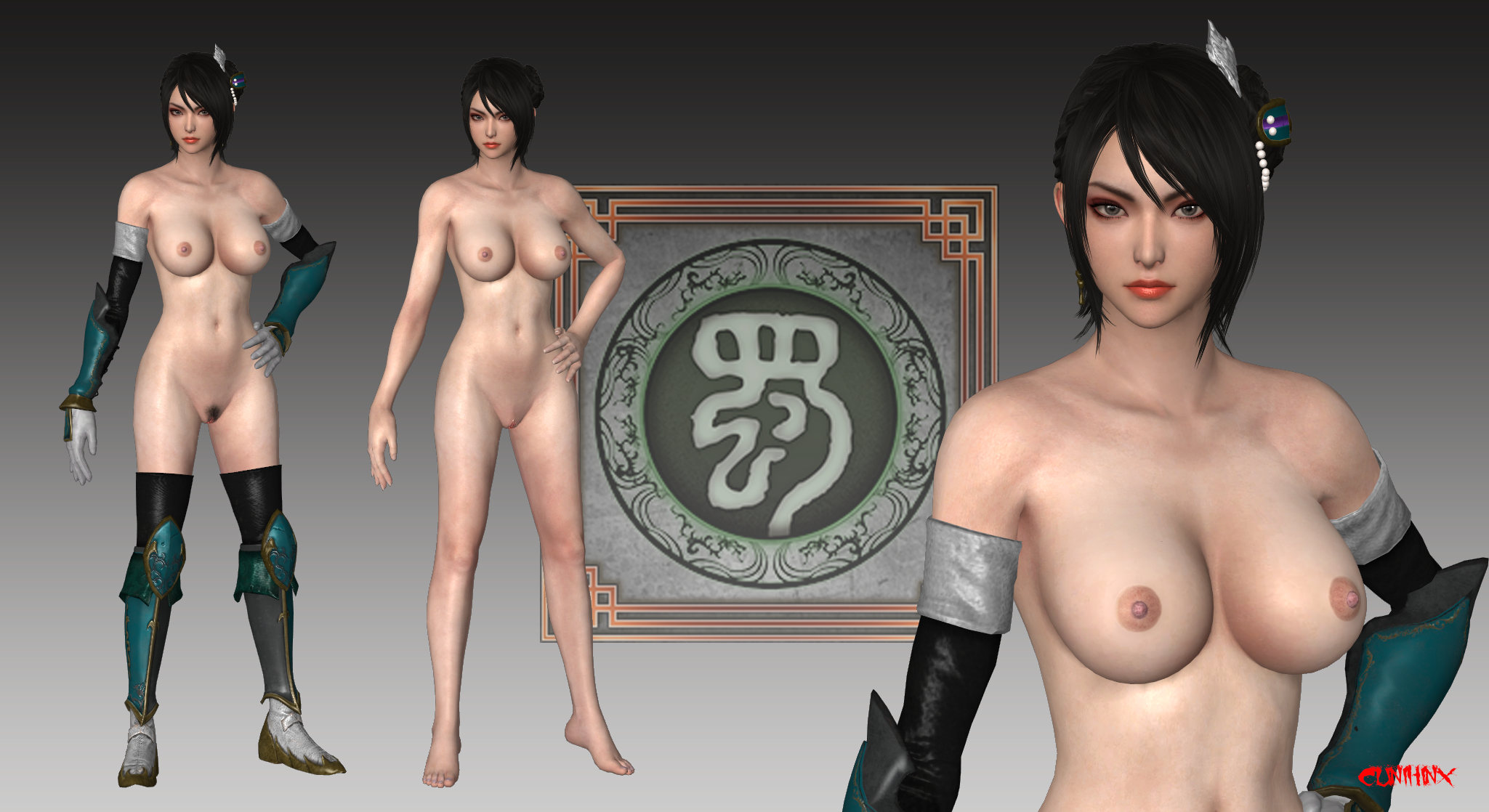 Xingcai (DW9) Nude Mod For XPS