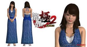 [XNALara/XPS] Yuki (Hostess)(Yakuza Kiwami 2)