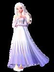 MMD Elsa White DL