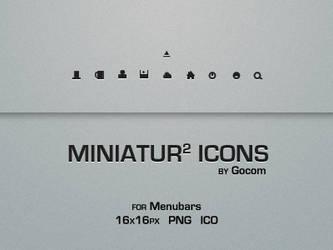 Miniatur Menubar Icons 2