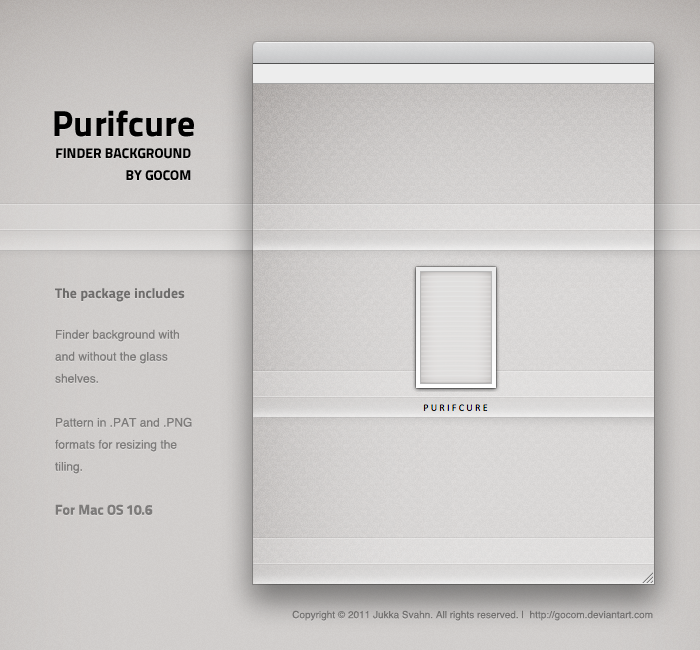 Purifcure Finder Background by Gocom