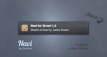 Navi for Growl by Gocom