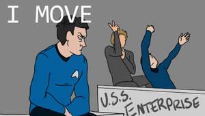 Star Trek Dance Gif by mellow-monsters