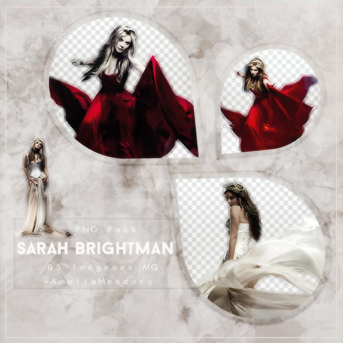SARAH BRIGHTMAN PNG Pack #1 by LoveEm08