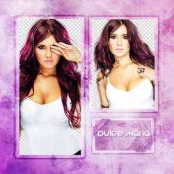 DULCE MARIA PNG Pack #1 by LoveEm08