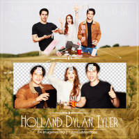 HOLLAND,DYLAN AND TYLER PNG PACK by LoveEm08