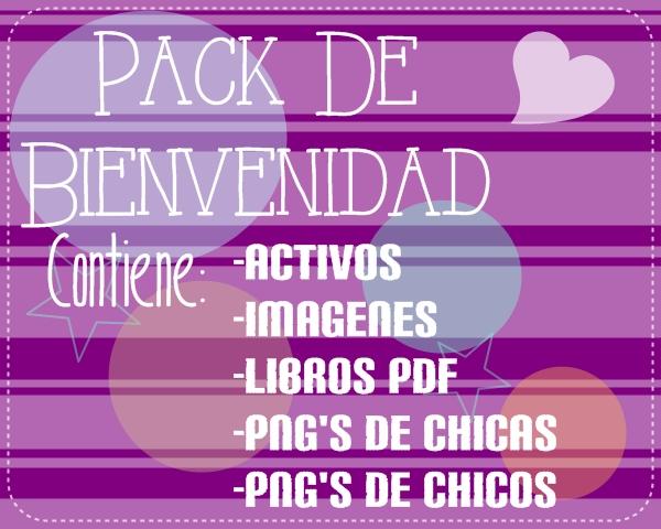 Pack de Bienvenida ~UuU~ by ChicaRaraOMG