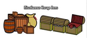 Walfas Storage Items (Prop Package)