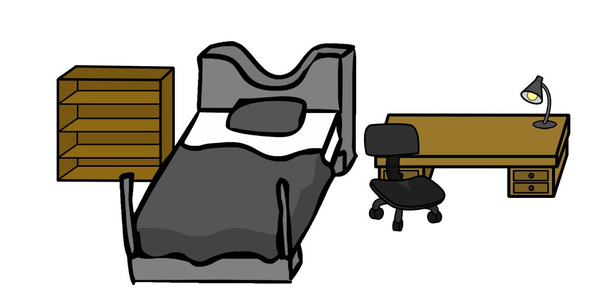 Bedroom Items. Walfas Bedroom Office Items  Prop Package by Feraligono on DeviantArt