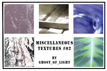 Miscellaneous Textures 02 by GhostOfLight