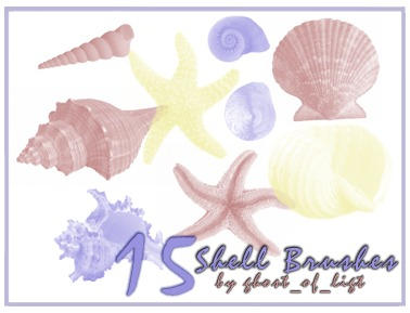 Shell Brushes by GhostOfLight