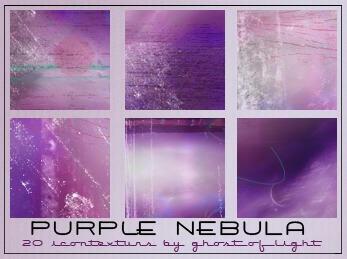 Purple Nebula by GhostOfLight
