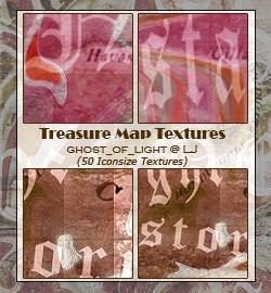 Treasure Map by GhostOfLight