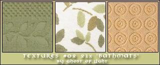 Textures 02 - Bathmats by GhostOfLight