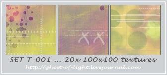 Set T-001 by GhostOfLight