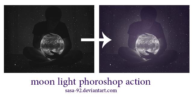 moon light phoroshop action by sasa-92