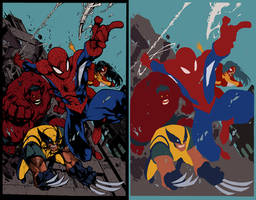 Avenging Spiderman Promo by MAD - dymartgd - Flats by TrinityMathews